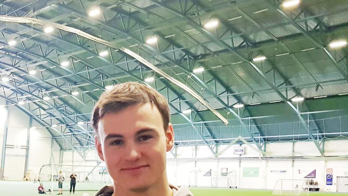 Sander Endresen scoret begge målene for Sortland borte mot Ballstad. (Arkiv