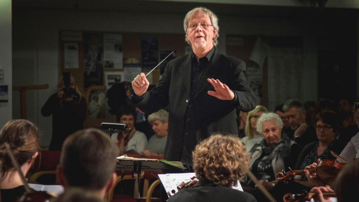 Ketil Vangen skal dirigere  LVO-konserten.