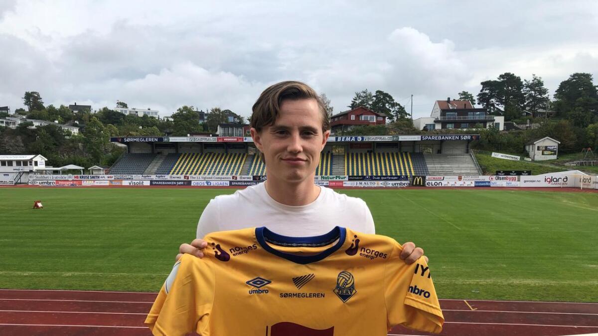 Jørgen Solli (23) har signert for Jerv.