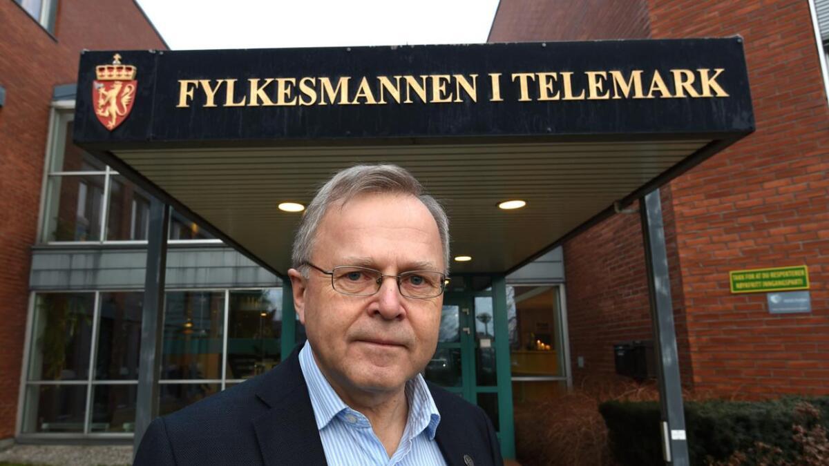 Fylkeslege Steinar Aase.