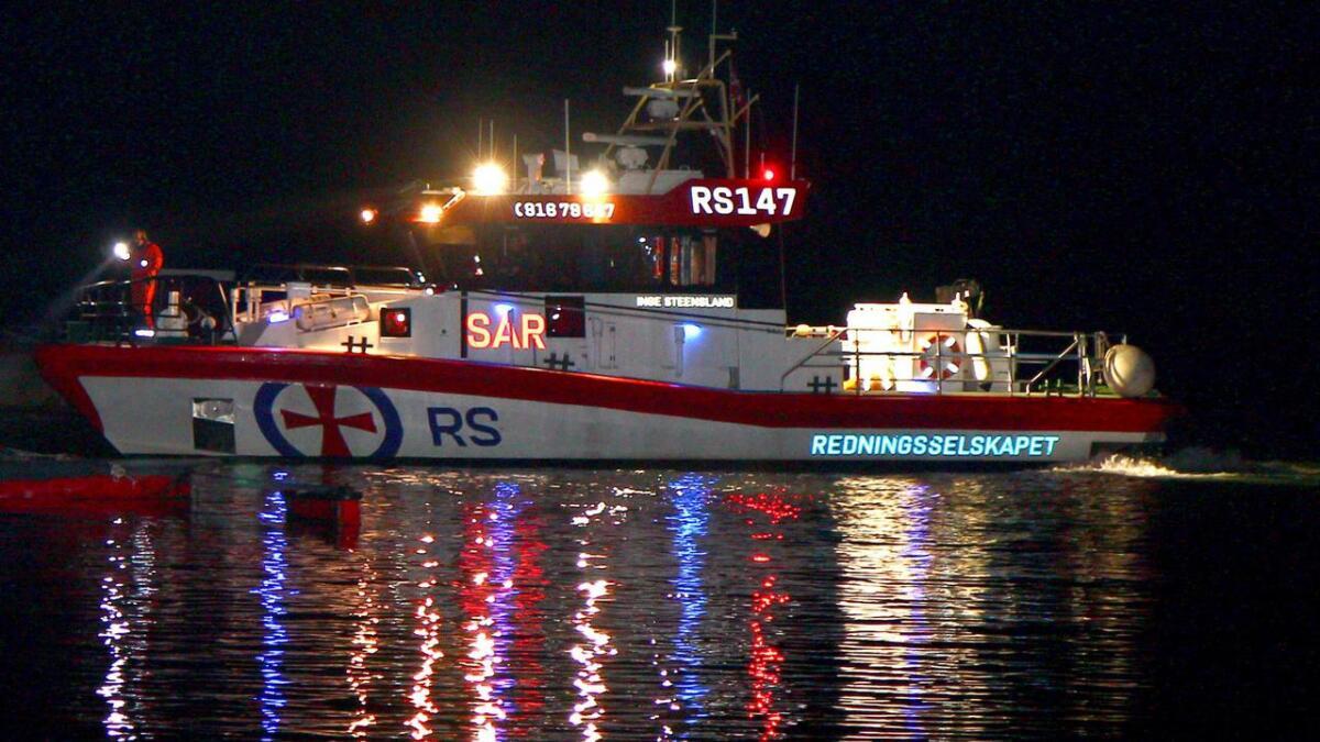 Bildet av RS Inge Steensland er tatt ved en annen anledning.