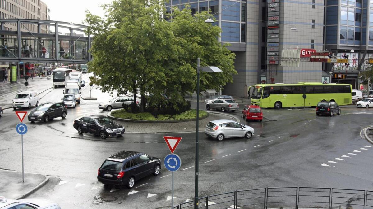 Ei undersøking som vert gjennomført av Gjensidige viser at 24 prosent av bilistane i Telemark ein eller fleire gonger har vore usikker i ei rundkøyring.