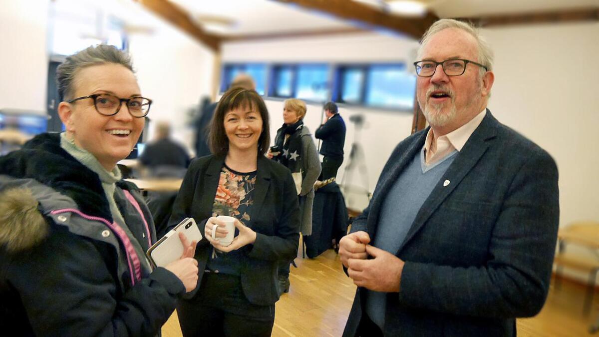Tvedestrands varaordfører June Marcussen (V) stiller som listetopp, det samme gjør ordfører i Vegårshei Kirsten Helen Myren (Sp) og Risørs ordfører Per Kristian Lunden (Ap).