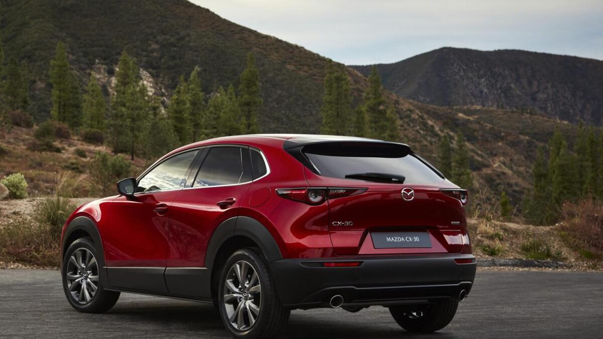 Mazda fyller ut SUV-rekka med ein bil i storleik mellom CX-3 og CX-5.