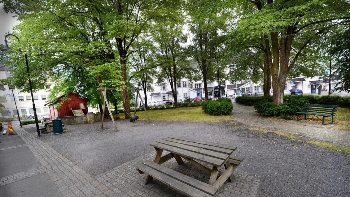 Lørdag skal denne plassen på Tyholmen prøve seg som markedsplass for første gang.
