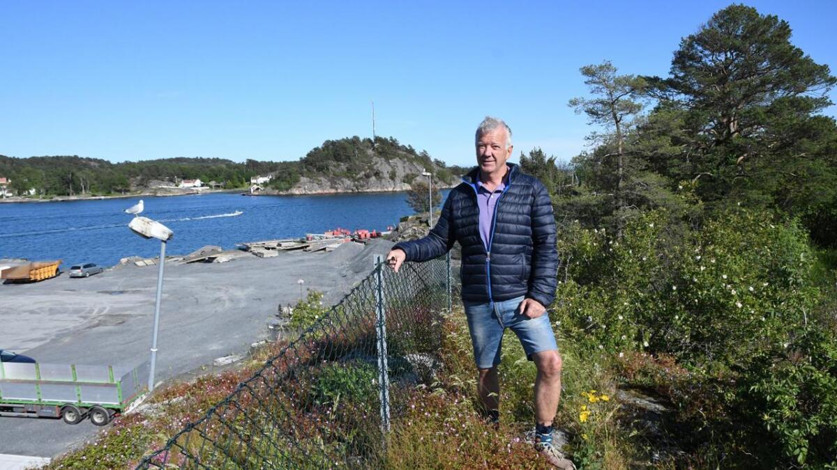Torgrim Næverdal og Byselskapet har stor tro på at Gundersholmen kan bli et svært viktig friområde.