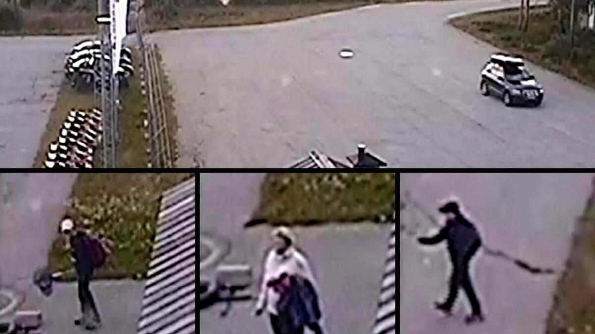 Svensk politi skal avhøyrde dei tre personane som truleg står bak skadeverket på Dagali flyplass.