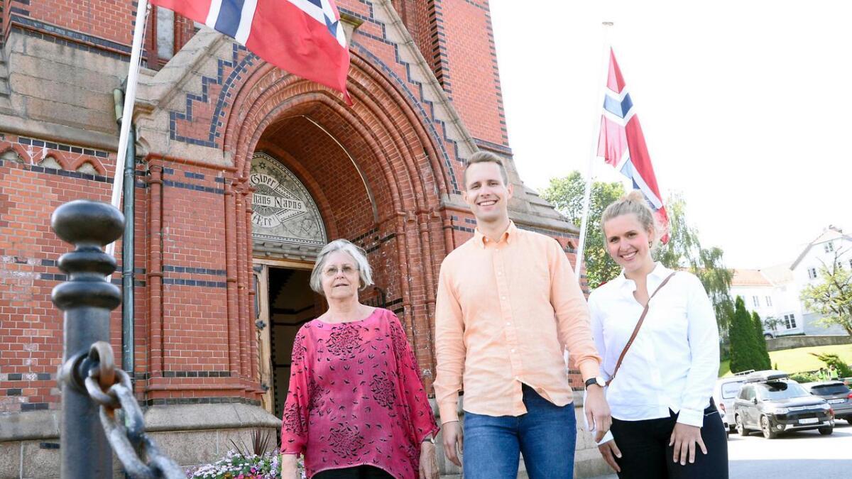 Med tre lister til bispedømmerådet håper kandidatene Torunn Tørå, Kai Steffen                                 Østensen og Ingvild Sommerfelt på stort engasjement, og fortsatt flertall for Åpen folkekirke, som de mener står for en inkluderende kirke.