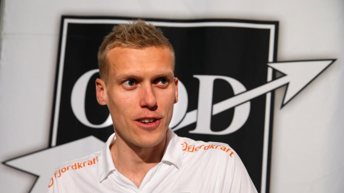 Blir i Odd. Steffen Hagen har signert ny kontrakt