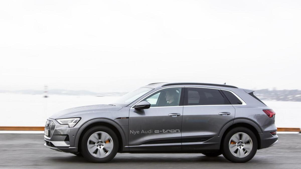 Audi e-tron står for 74 prosent av Audis leveringer i Norge i år.