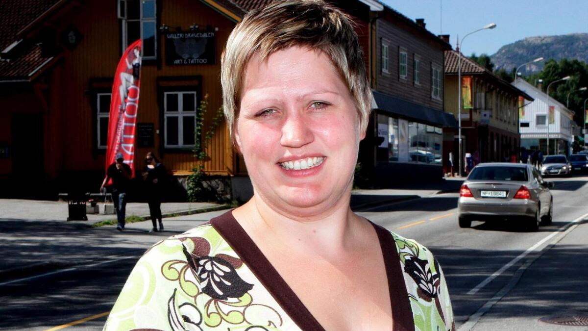 Beate Marie Dahl Eide vil ha lyntog.
