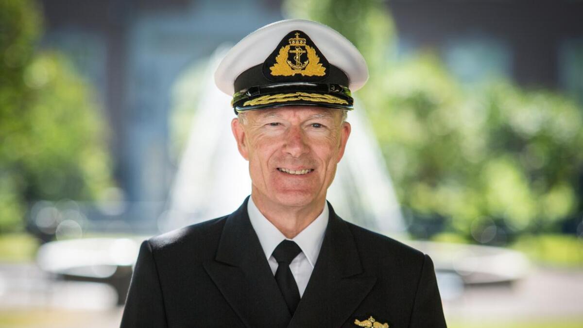 Forsvarssjef Haakon Bruun-Hanssen.