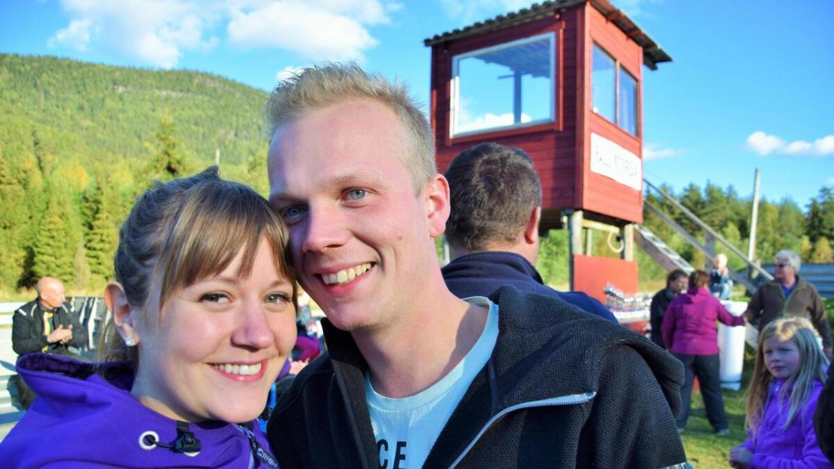 Malene fridde til Sigbjørn på rallybanen og fikk ja.