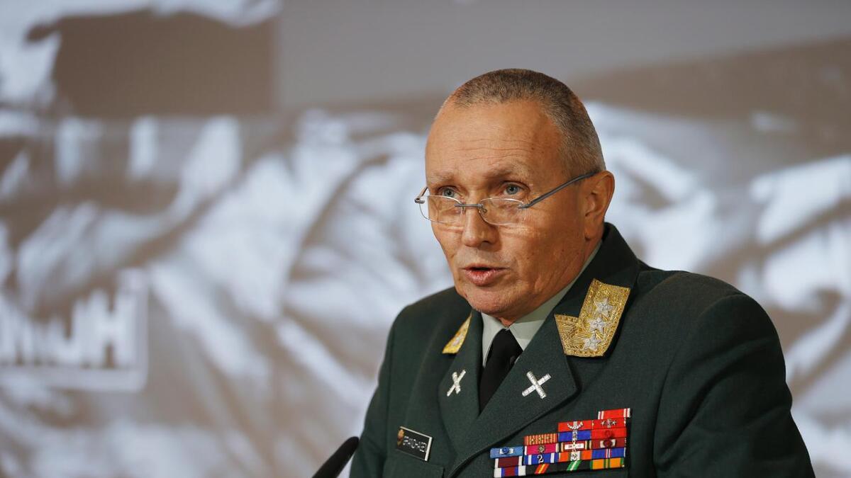 – Jeg mener bestemt at vi trenger infrastrukturen på Andøya, sier pensjonert generalløytnant Kjell Grandhagen.