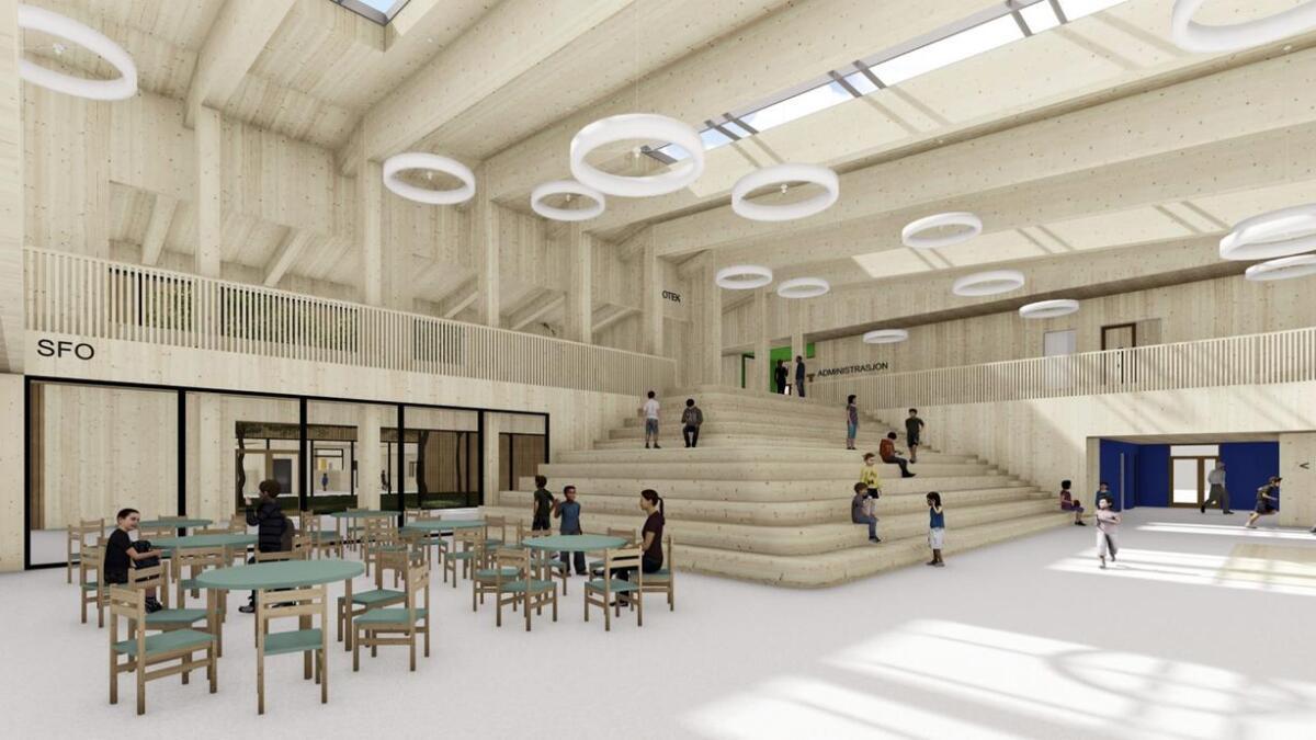 Målet og visjonen med bygget er ifølgje prosjektsjefen å gje elevane ein fin kvardag.