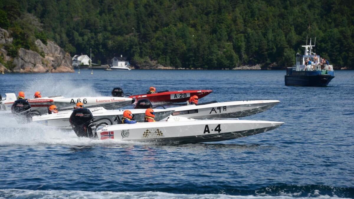 For mange er sommer ensbetydende med regatta og båtsport i Tvedestrand.
