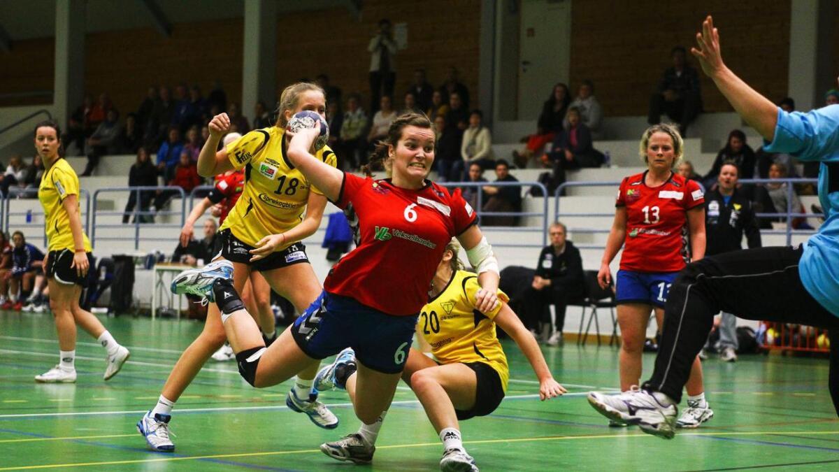 Ingeborg Almeland Tveit var sentral då Voss vann over Fyllingen 2.