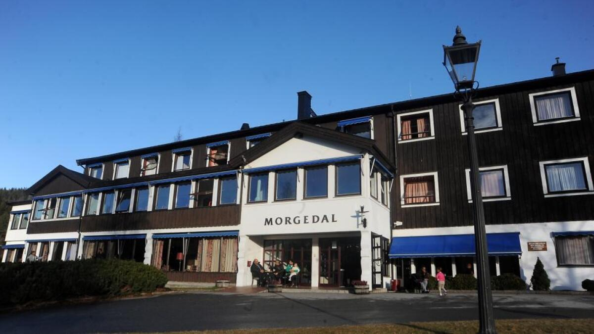 Morgedal hotell.