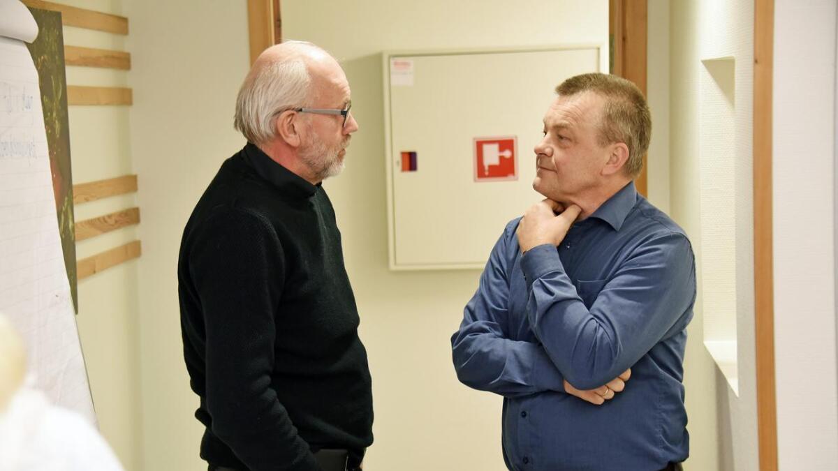 Eon-representant Kjell Rune Nakkestad sier selskapet avventer tilbakemelding fra kommunen. Ordfører Anders Christiansen sier plassering av innovasjonshus ikke blir avgjort før valget. Arkiv
