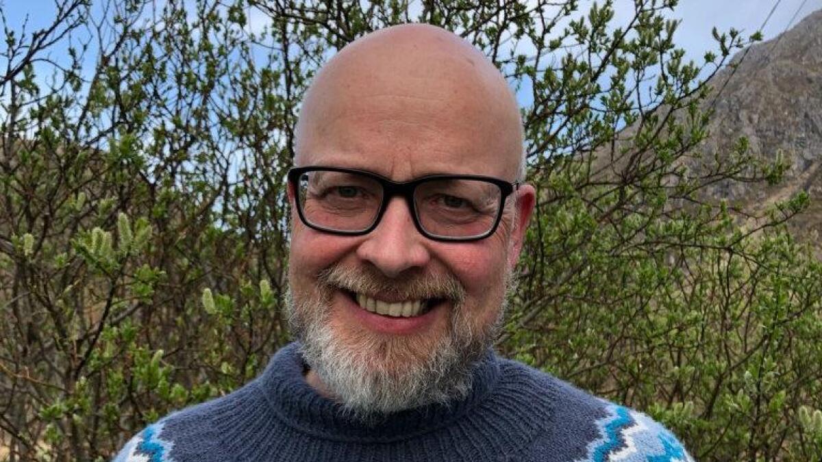 Yngve Hansen er leder i Øksnes Arbeiderparti.