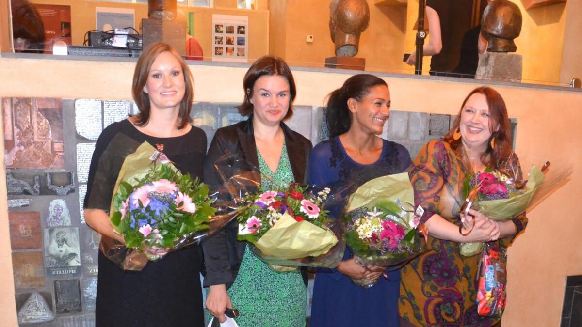 Agnes Ravatn, Ruth Lillegraven, Lisa Aisato og Siri Pettersen.
