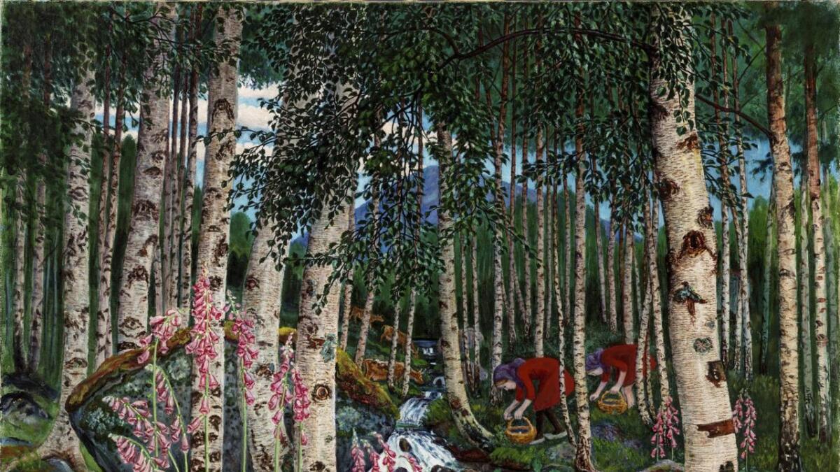 Kunst frå Nikolai Astrup (1880–1928) ståande på KODE Kunstmuseer i Bergen skal på turné til USA neste sommar.