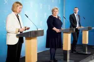 Se direkte klokka 16: Møter pressen om korona