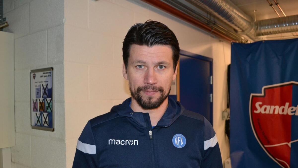 Kenneth Dokken og Notodden tapte 3-0 borte mot Sandefjord søndag.