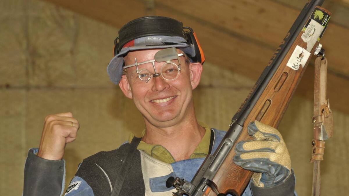 Lars Johan Skjeggedal, her fra skytter-sammenheng.