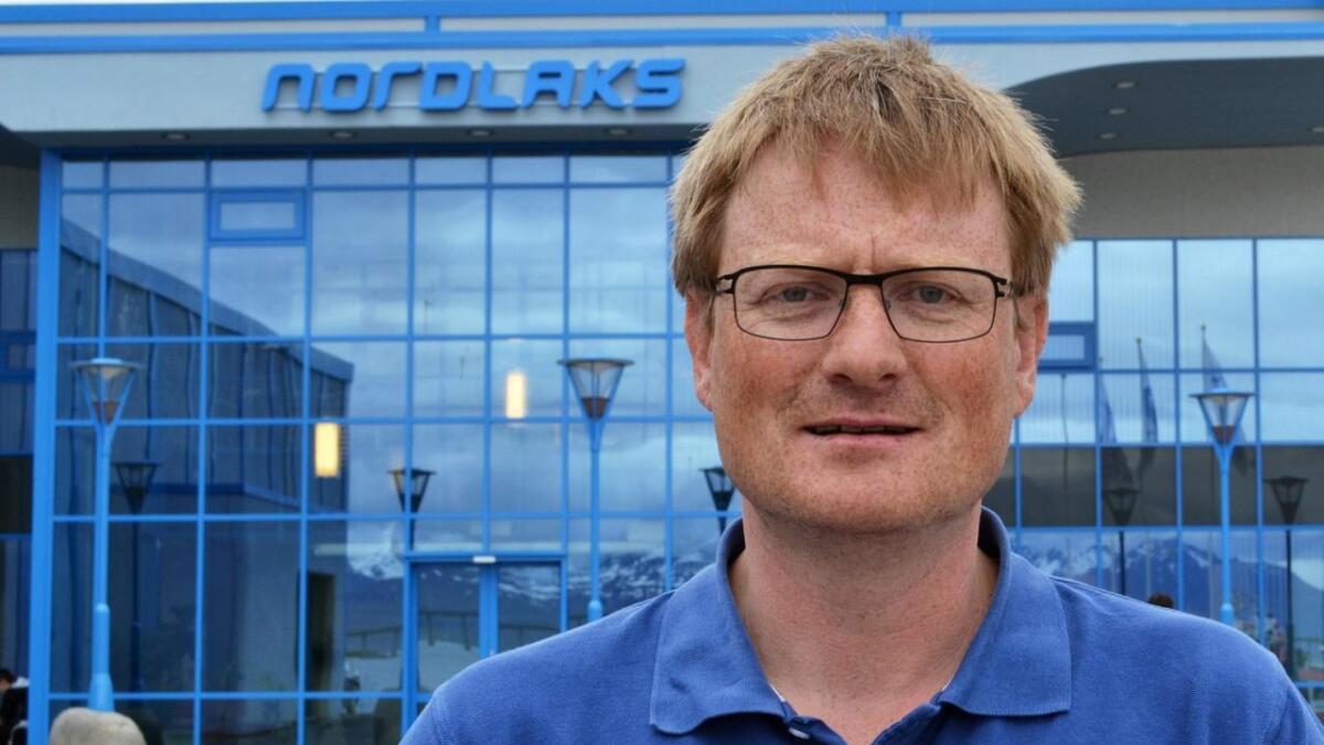 Inge Berg, administrerende direktør og eier på Nordlaks.