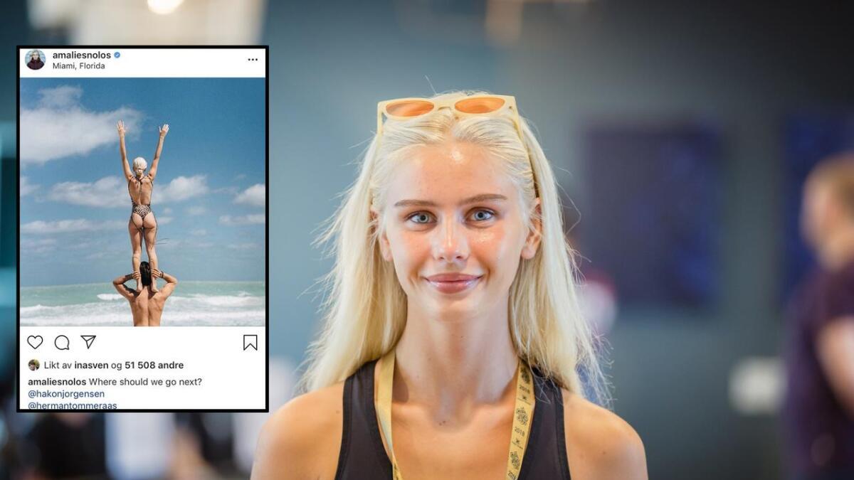 13 år gamle jenter lurer på hva Amalie Snøløs veier.