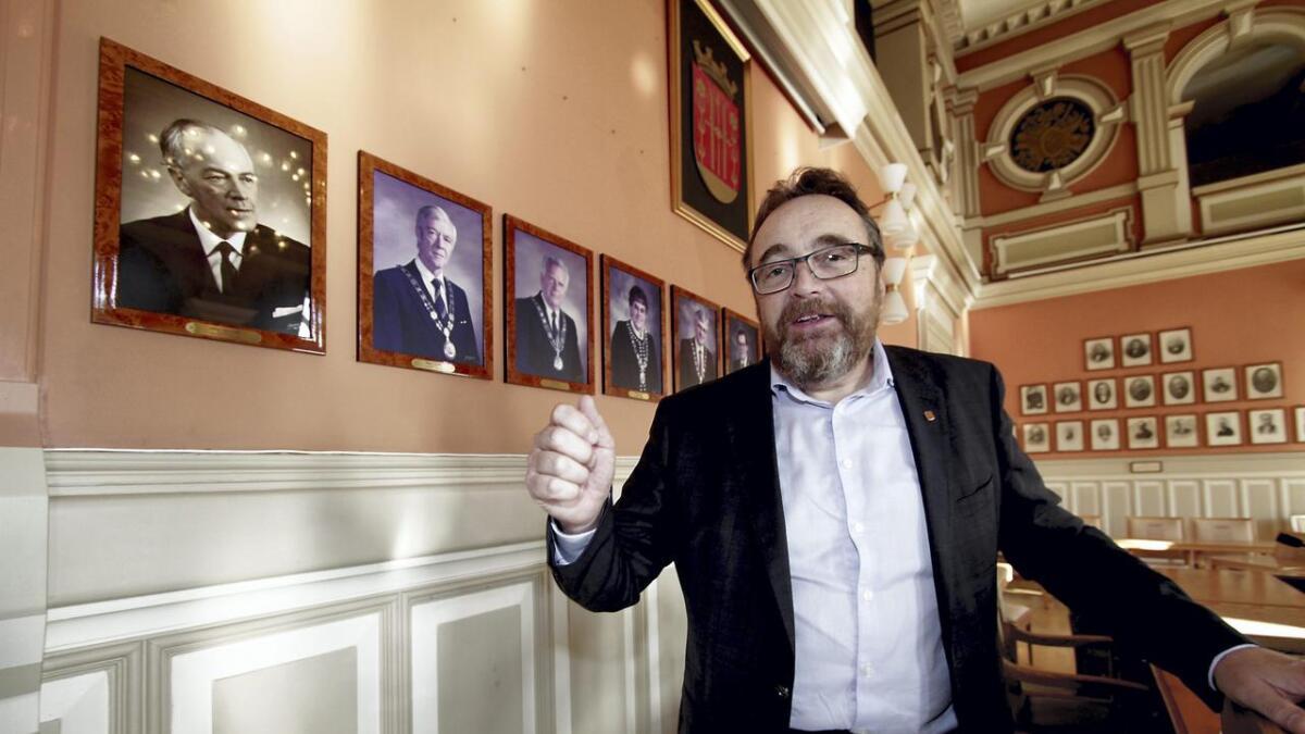 Rådmann i Skien, Ole Magnus Stensrud.