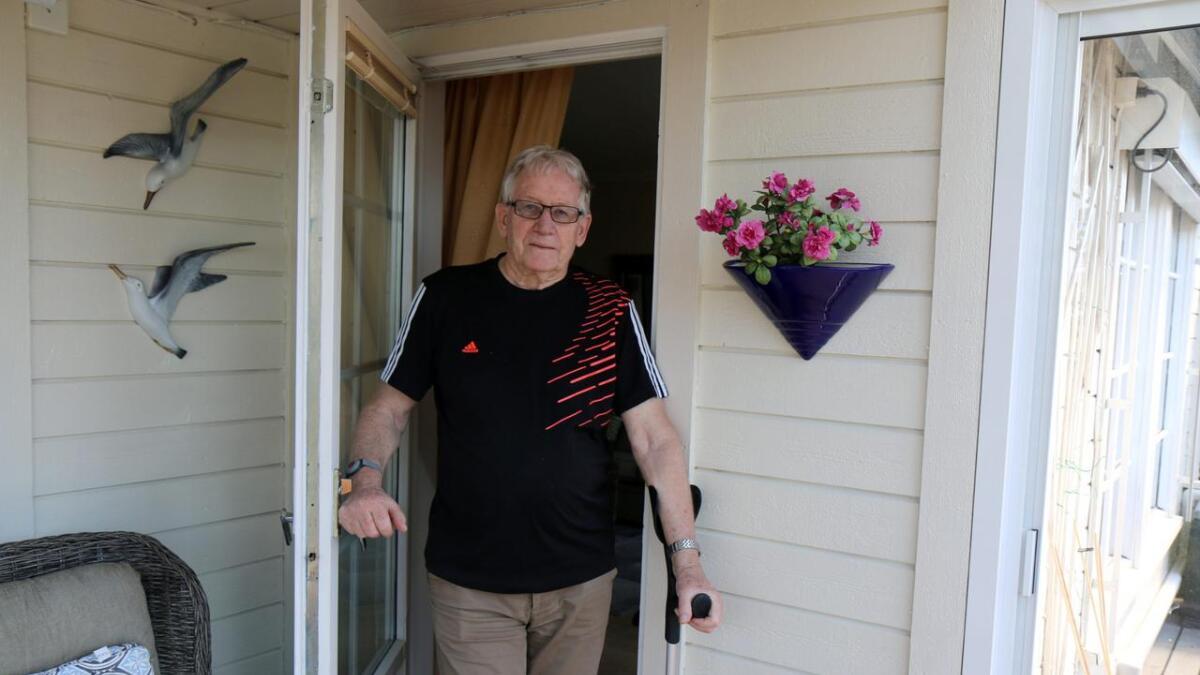 Kona Gunvor brakk lårhalsen to ganger på St. Hansåsen sykehjem. Arne Andersen klaget på behandlingen og har       nå fått medhold.