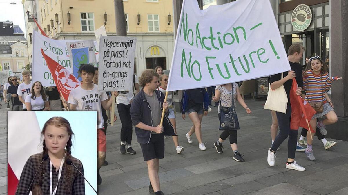 Norske politikarar bør lytta både til Greta Thunberg, som i haust starta eit verdsomspennande ungdomsopprør, og til dei over 50.000 barn og unge i Noreg som har streika for klimaet.