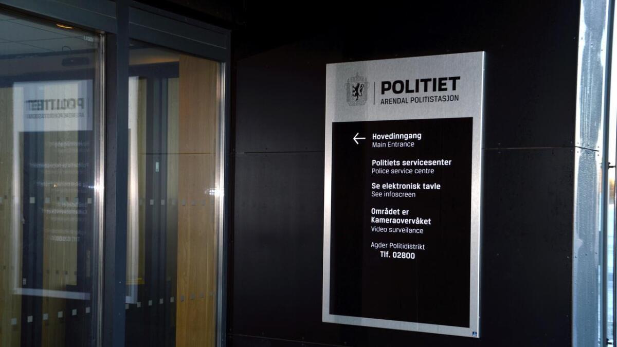 Arendal politistasjon, illustrasjonsfoto.