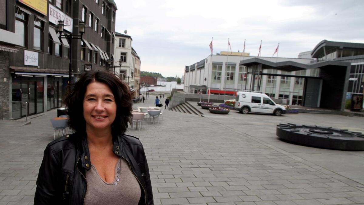 Trude Sandvik ledet hovedutvalg for helse og velferd i dag.