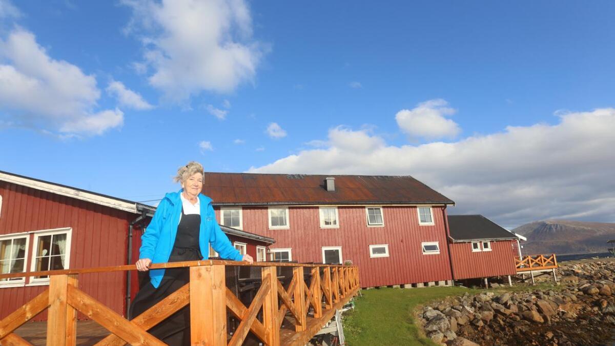 I 33 år har Britt Marian Olsen levd av turisme, og hun mener vi nå går lysere tider i møte.