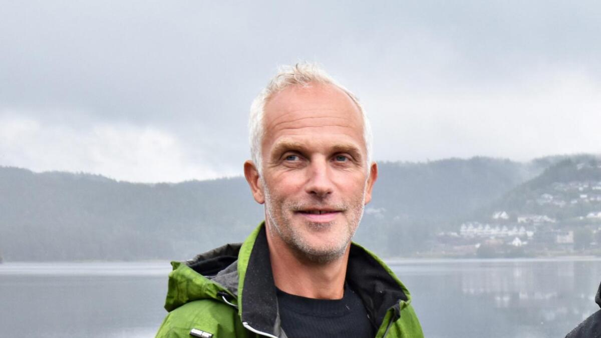 Geir Wehus er ikke fornøyd med at eiendommene nedenfor Strandstien blir regnet som innmark. Arkvifoto