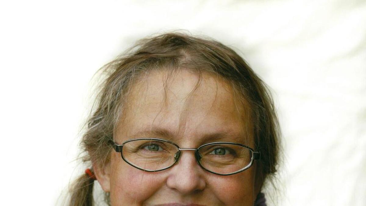 Forfatter Gro Dahle.