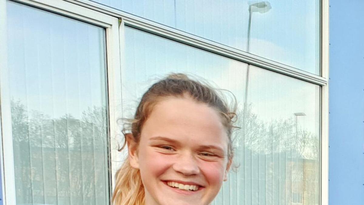 Sigrid Miklegard fra Sortland er en av 12 vesterålsspillere som er klar for kretslagssamling. (Arkivfoto)