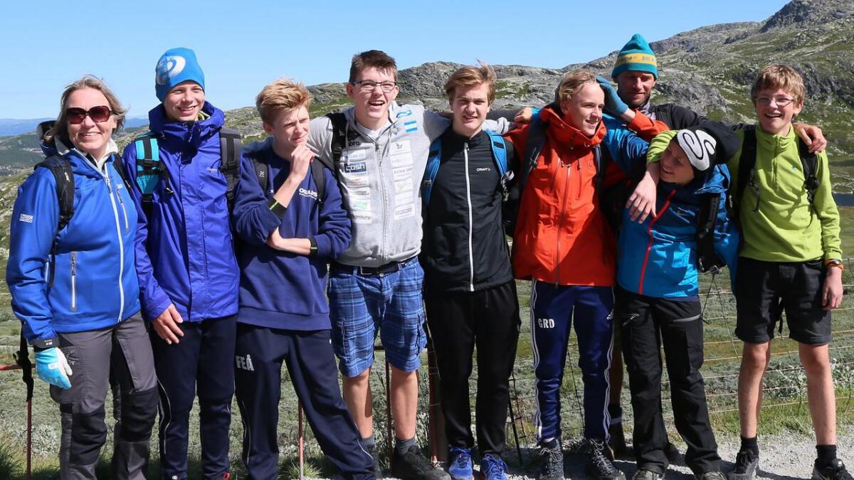 Handball-laget fra Njård.