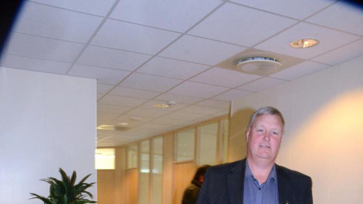 Tor Egil Buøen er på veg til ein ny jobb, i Flå Vekst.