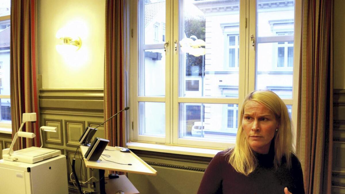 Ordfører Hedda Foss Five (Ap) fikk kjeft fra Høyre for sin møteledelse. Men det kan nok skrives på valgkontoen.