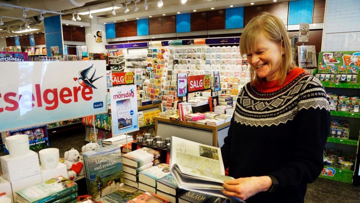 Birgit Haugen kan glede seg over at boka hennar har slått godt an, den er trykt i fire opplag og over 3000 eksemplar. Alt første månadene i 2018 toppa den bestseljarlistene i Gol