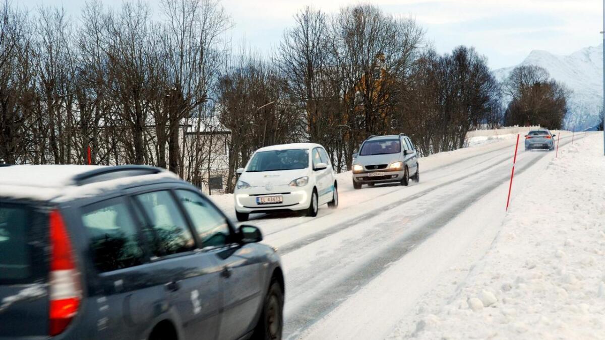 Det var ingen drepte i trafikken i Nordland og Troms i november, heller i kke i fjorårets november. (Illustrasjonsfoto)