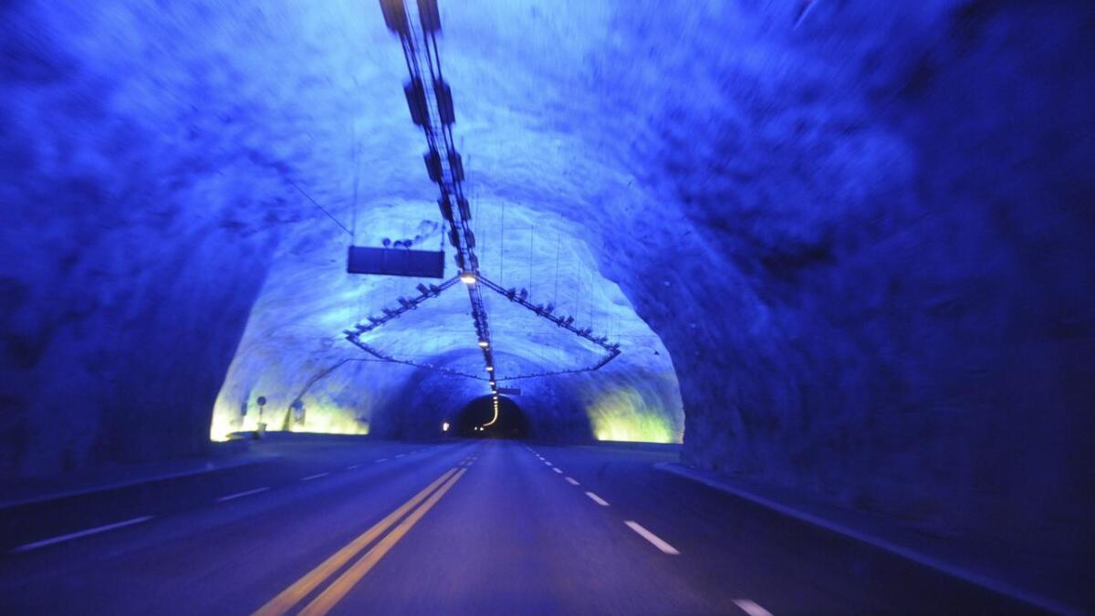Fram til 2027 er Lærdalstunnelen i Sogn og Fjordane landets – og verdas – lengste vegtunnel.