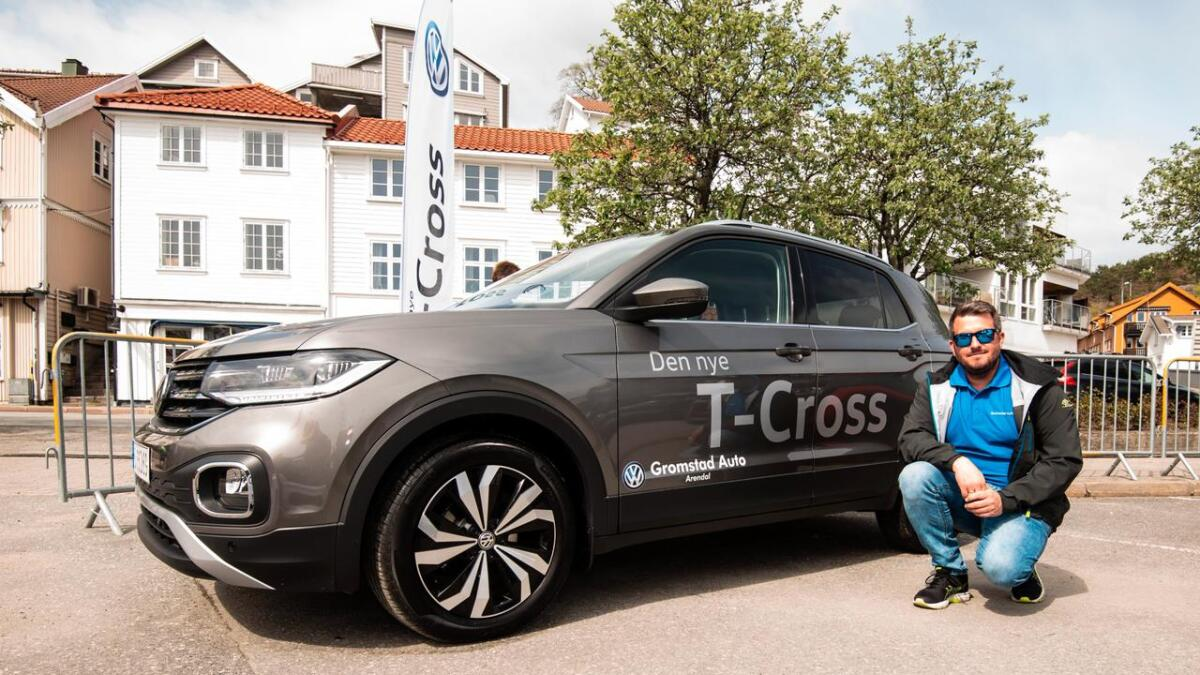 Tom Einar Helle hos Gromstad Auto sier T-Cross er en størrelse man har savnet i modellutvalget, og at han tror bilen vil treffe et bredt marked.