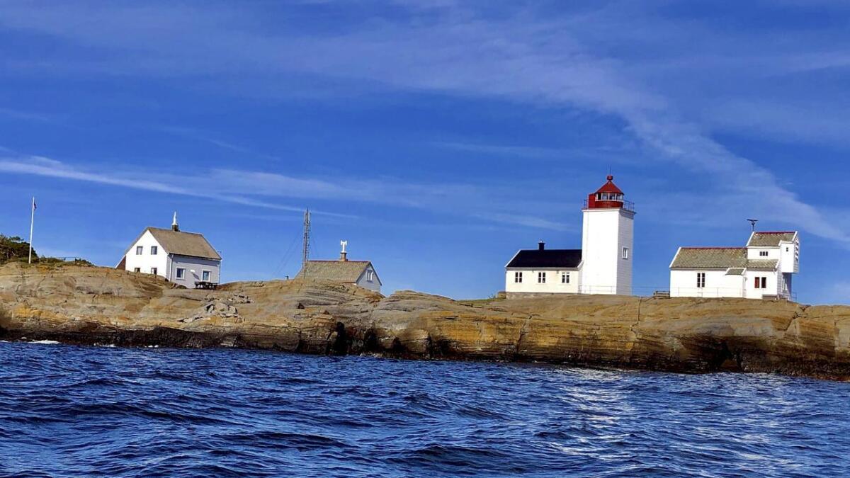 Langøytangen fyr, på Langøya utenfor Langesund, er et landemerke i Grenland.