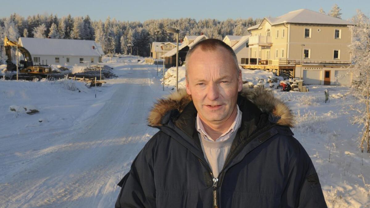 Syver Oliver i Tun Eiendom ber kommunen om en avklaring da det er ønske om å bygge noen flere boliger enn det utbyggingsavtalen åpner for.