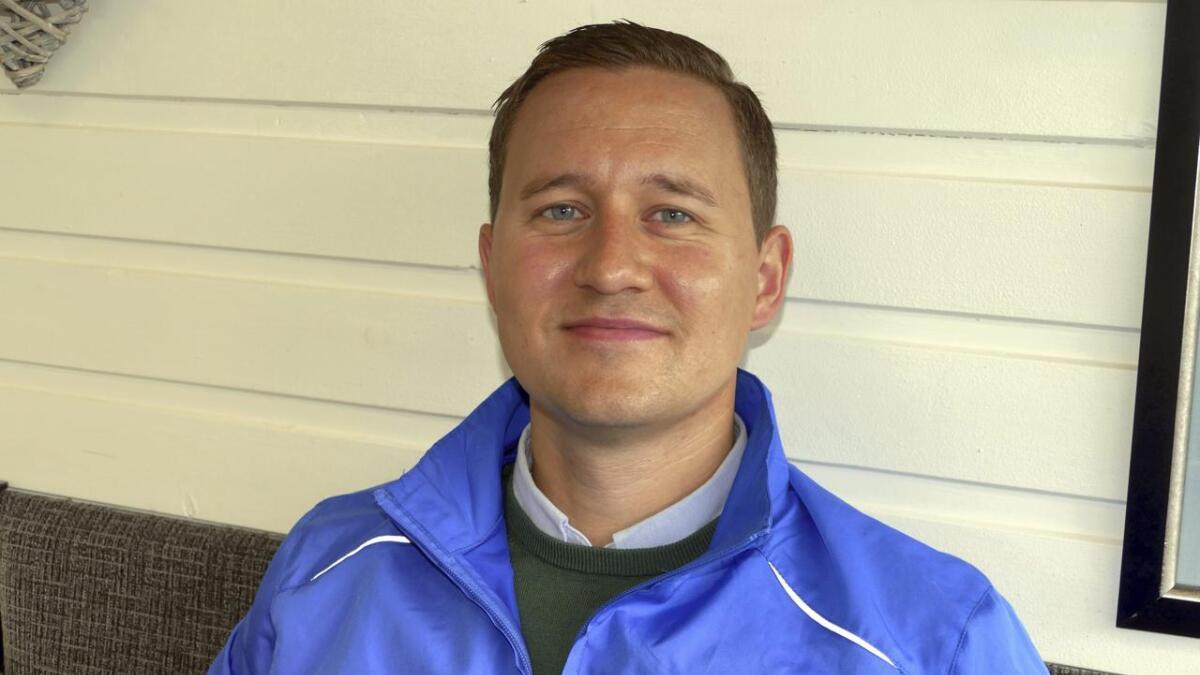 Erlend Hesjedal-Johannessen er Vaksdal høgre sin toppkandidat til kommunevalet.